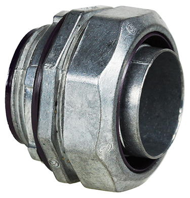 Dottie LT75I 3/4 In Straight Insulated Die Cast Liquid Tite Connector