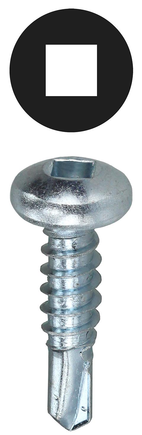 Dottie TEKDD82 8 X 2 Pan Head Square Drive Self Drilling Screws