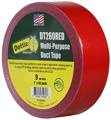 Dottie DT260RED 2 X 60 YARDS RED DU