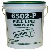 6500' Pull Line Two Ply Dispensing - Pail