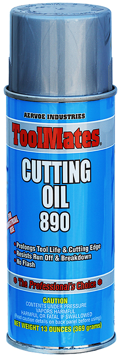 Dottie 890 Water Based Cutting Oil, Non-Flammable, Thinnable, 16oz (12/Case)