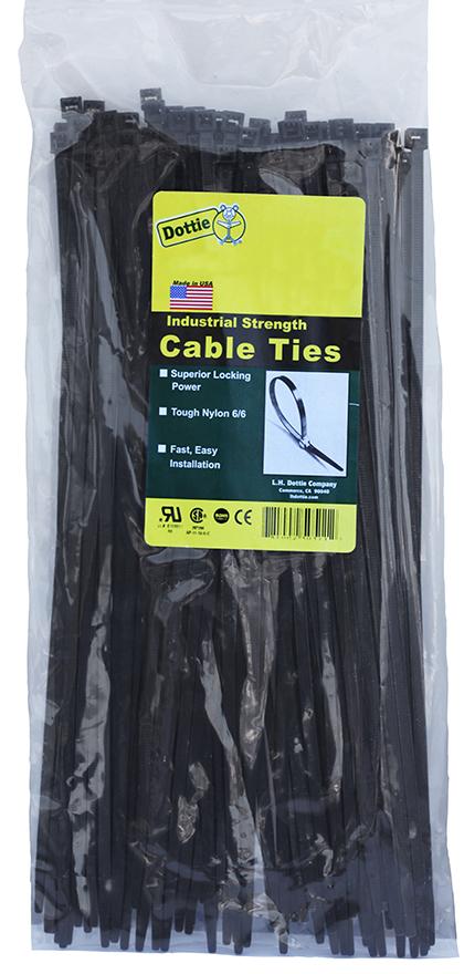 DOTTIE DT5B 5-1/2 BLK CABLE TIE