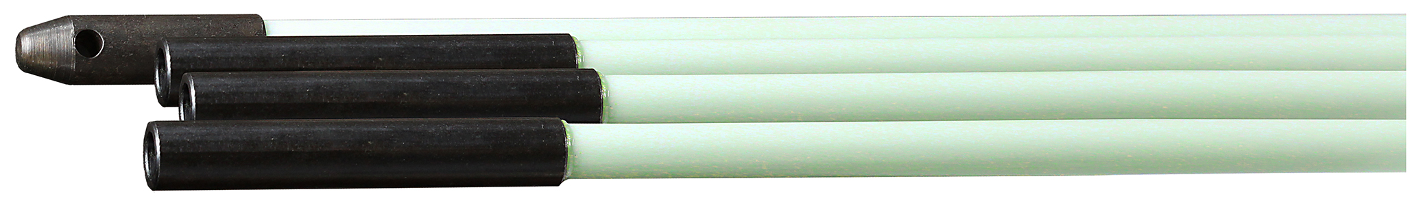 "1/4"" X 24' Four 1/4"" X 6' Lite Stick Rods w - Eyes"