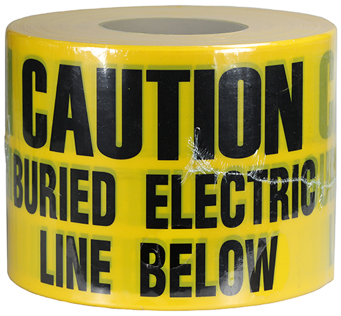 DOTTIE UT-28D CAUTION LINE BELOWYELLOW TAPE