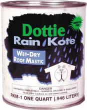 DOTTIE RKM-1 1-QT ROOF MASTIC